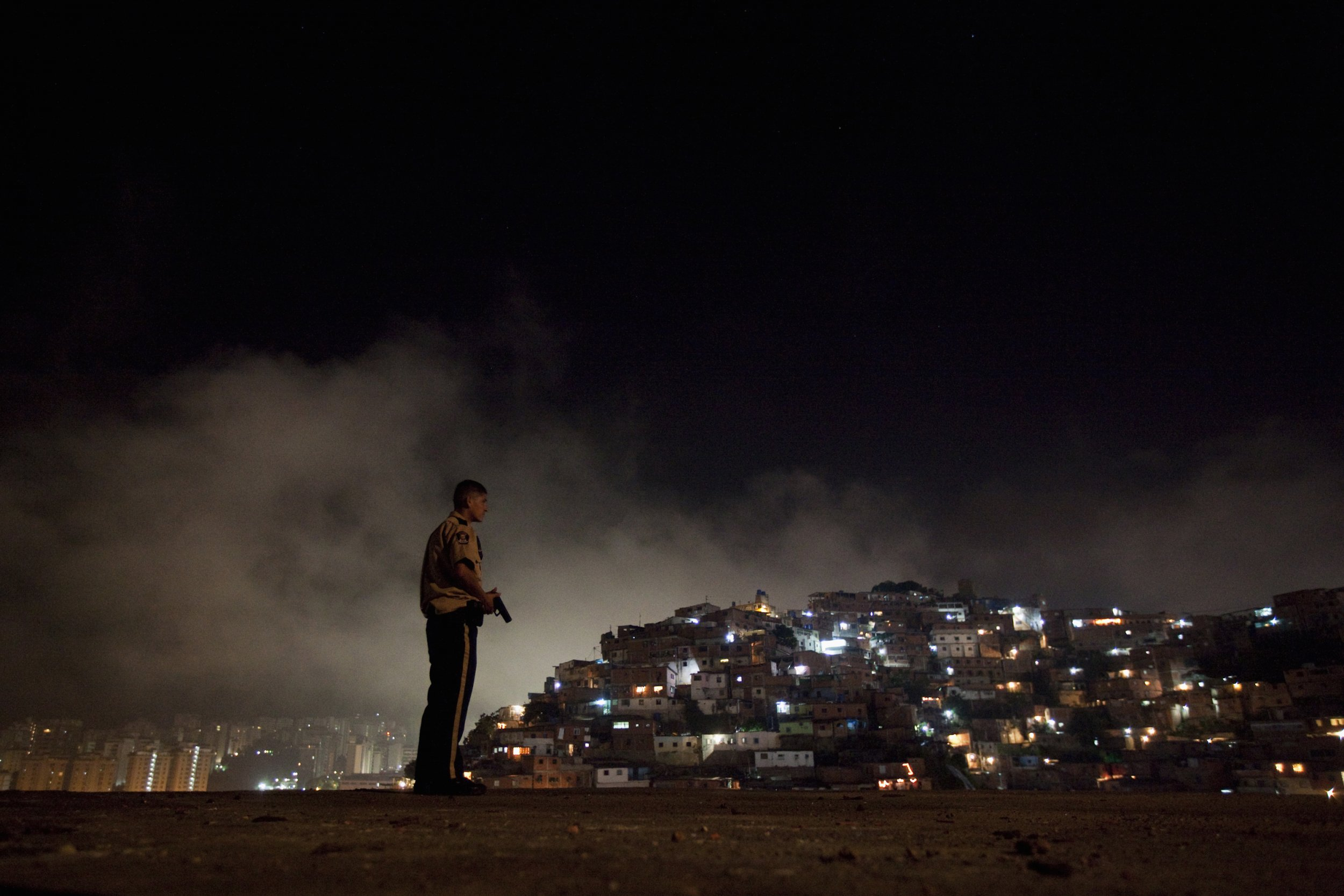 0128_Venezuela_Caracas_Violent_01.