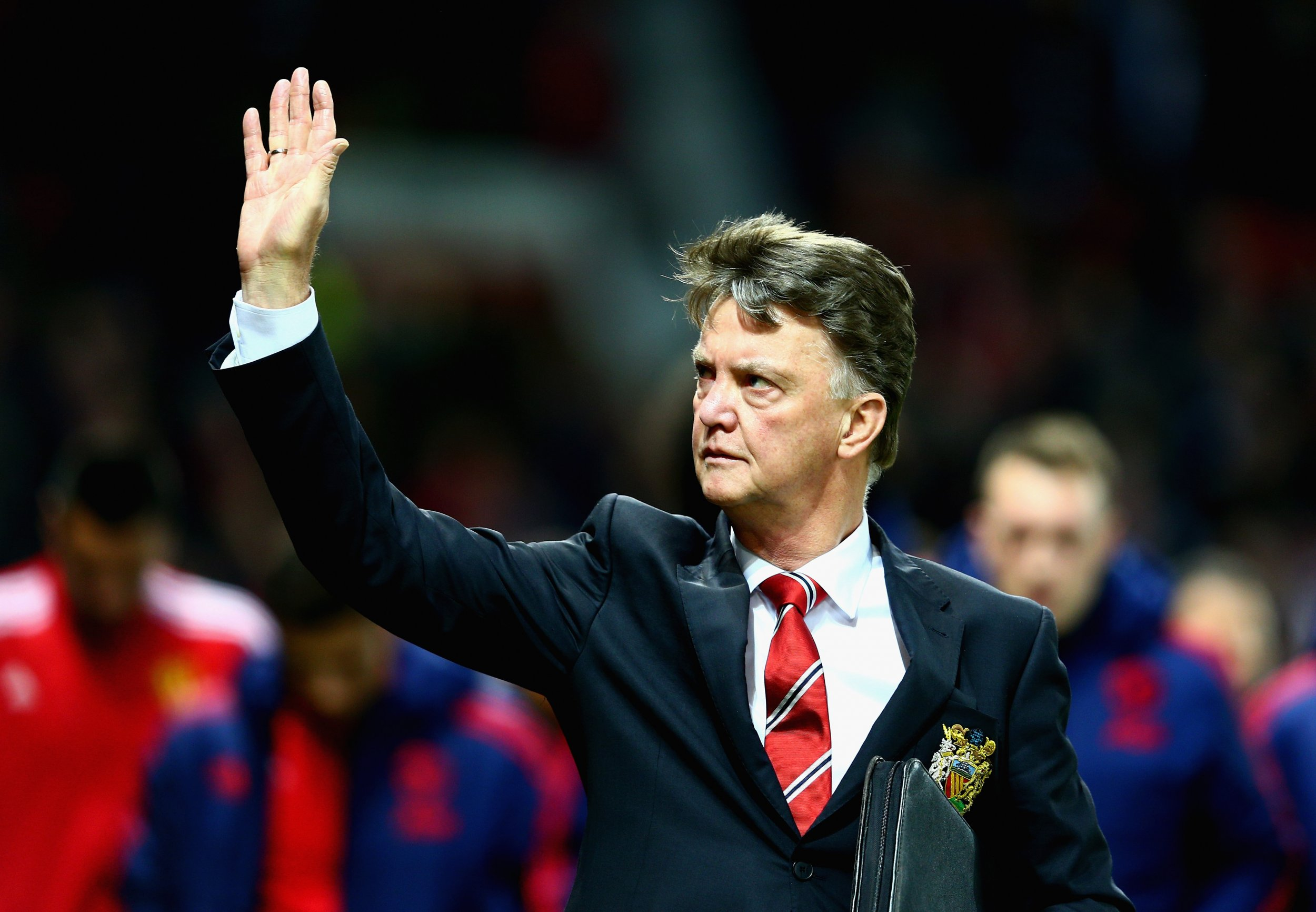 Van Gaal is angry at reports he offered Manchester United his resignation.