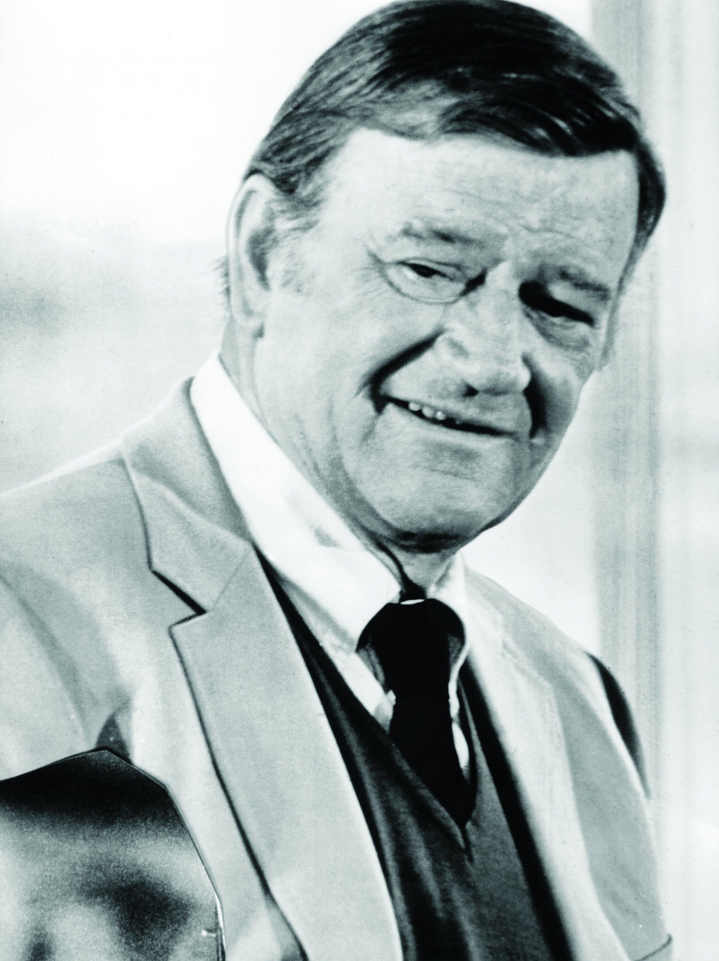 John Wayne: End as a Man