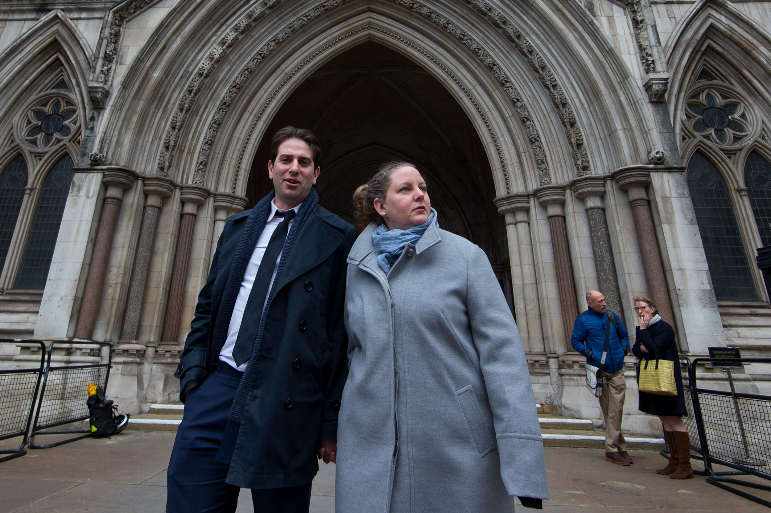 Heterosexual couple lose civil partnership