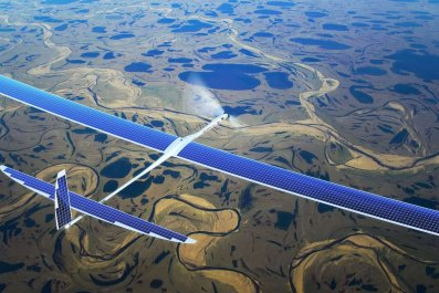 google drone project skybender 5G Internet