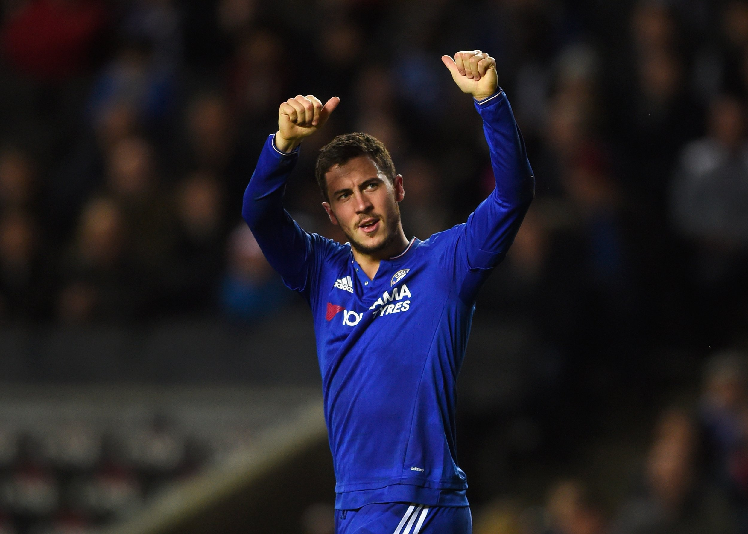 Guus Hiddink says Eden Hazard could leave Chelsea.