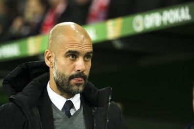 Pep Guardiola has signed a three-year deal with Manchester City.