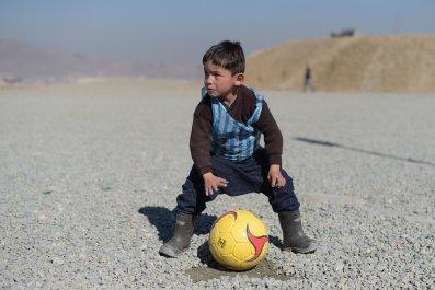 Afghan Messi Murtaza Ahmadi