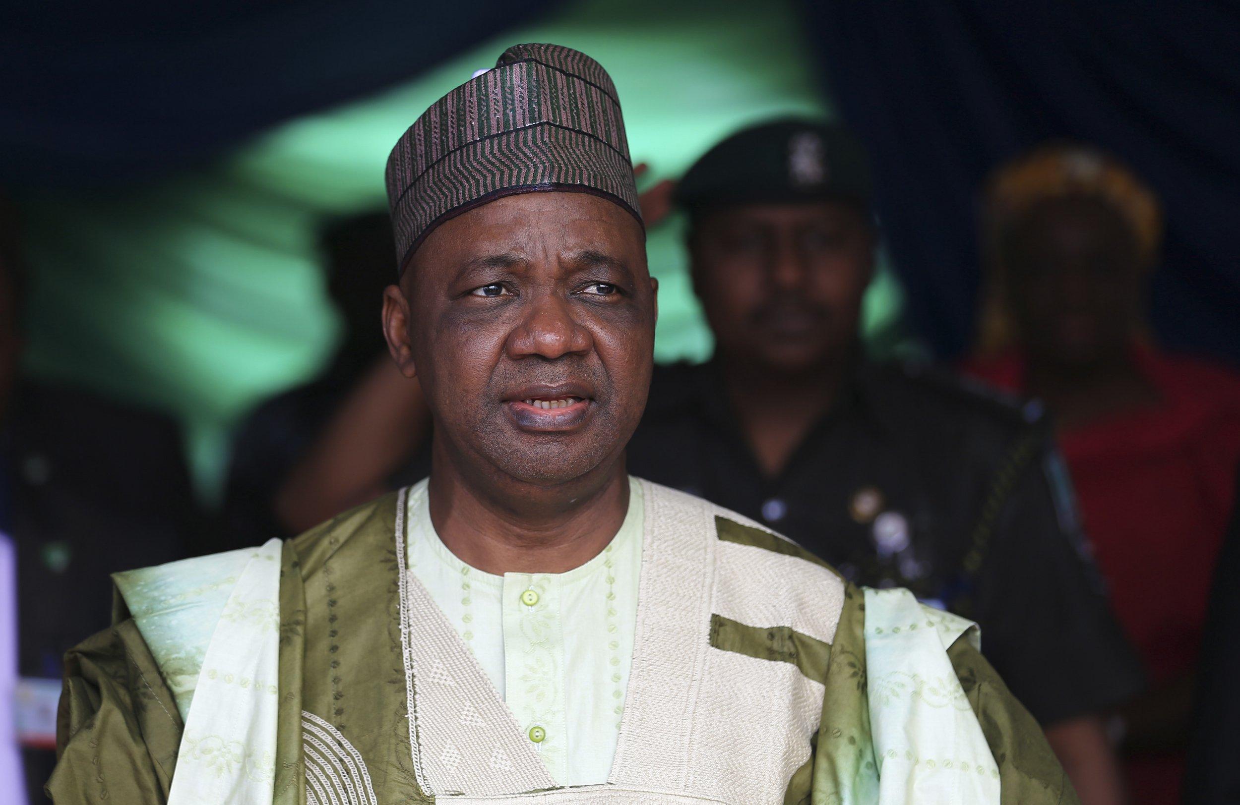 Former Nigerian vice president Namadi Sambo's office has reportedly been raided by Nigerian authorities.