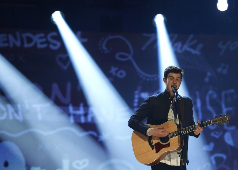 Shawn Mendes perform in Live Lounge