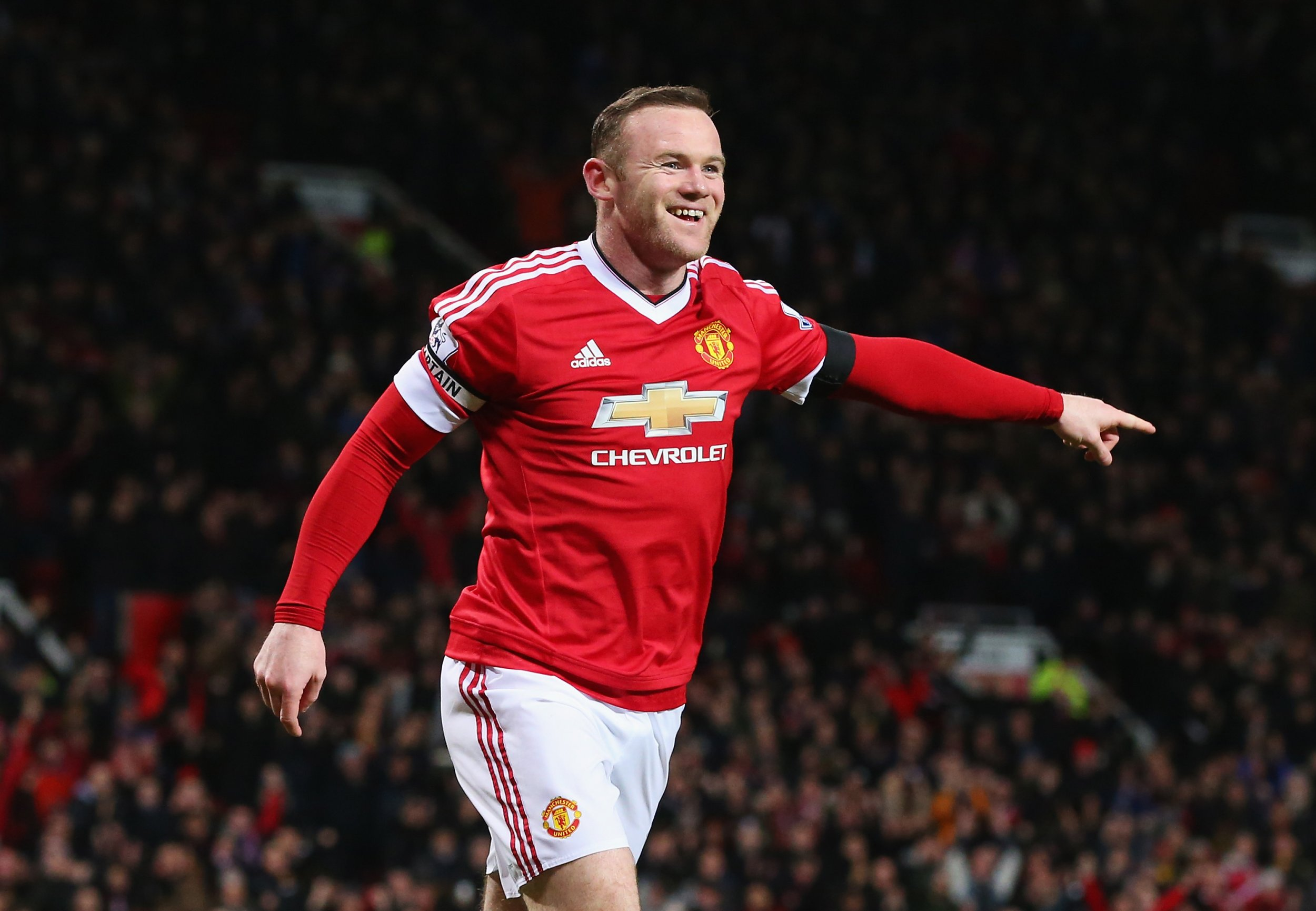 Wayne Rooney has hit form for Manchester United.