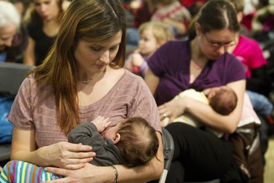 Breastfeeding should be allowed UK parliament