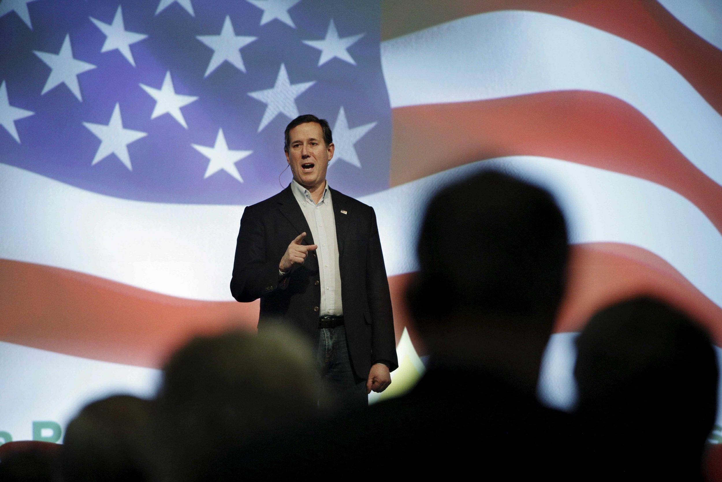 Santorum Drops Out