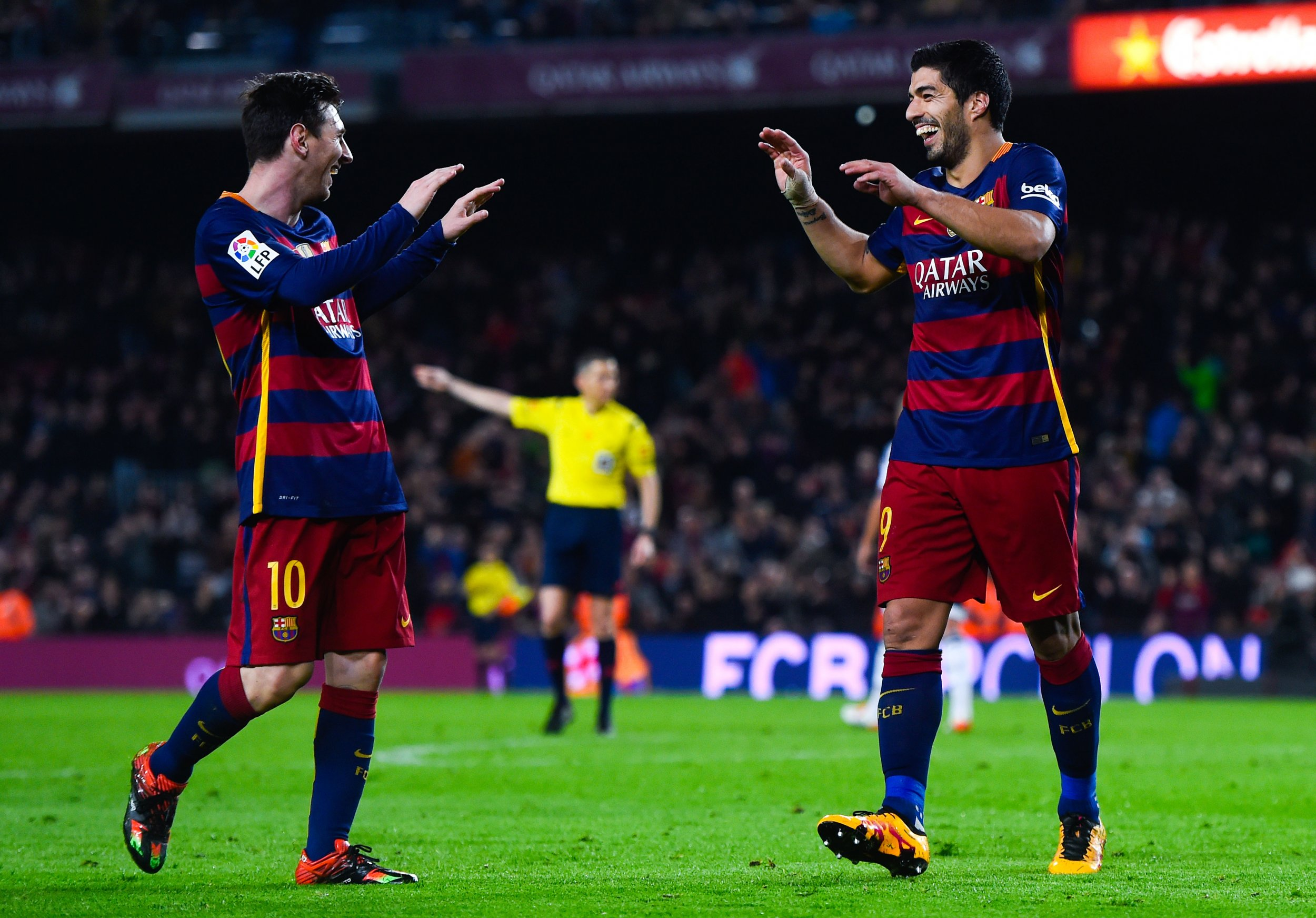 Lionel Messi and Luis Suarez routed Valencia at the Camp Nou.