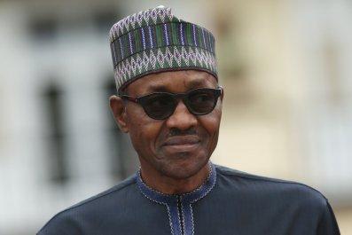Muhammadu Buhari attends the G7 summit.