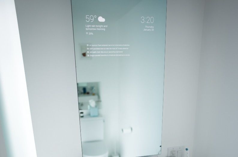 smart mirror google android