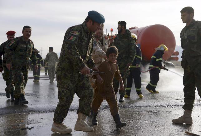 Afghan Suicide Bomb Kills 3