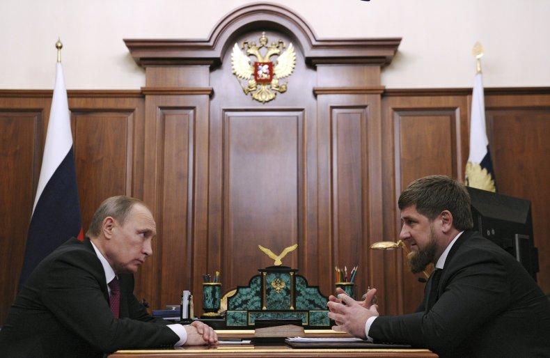 vladimir putin chechnya ramzan kadyrov