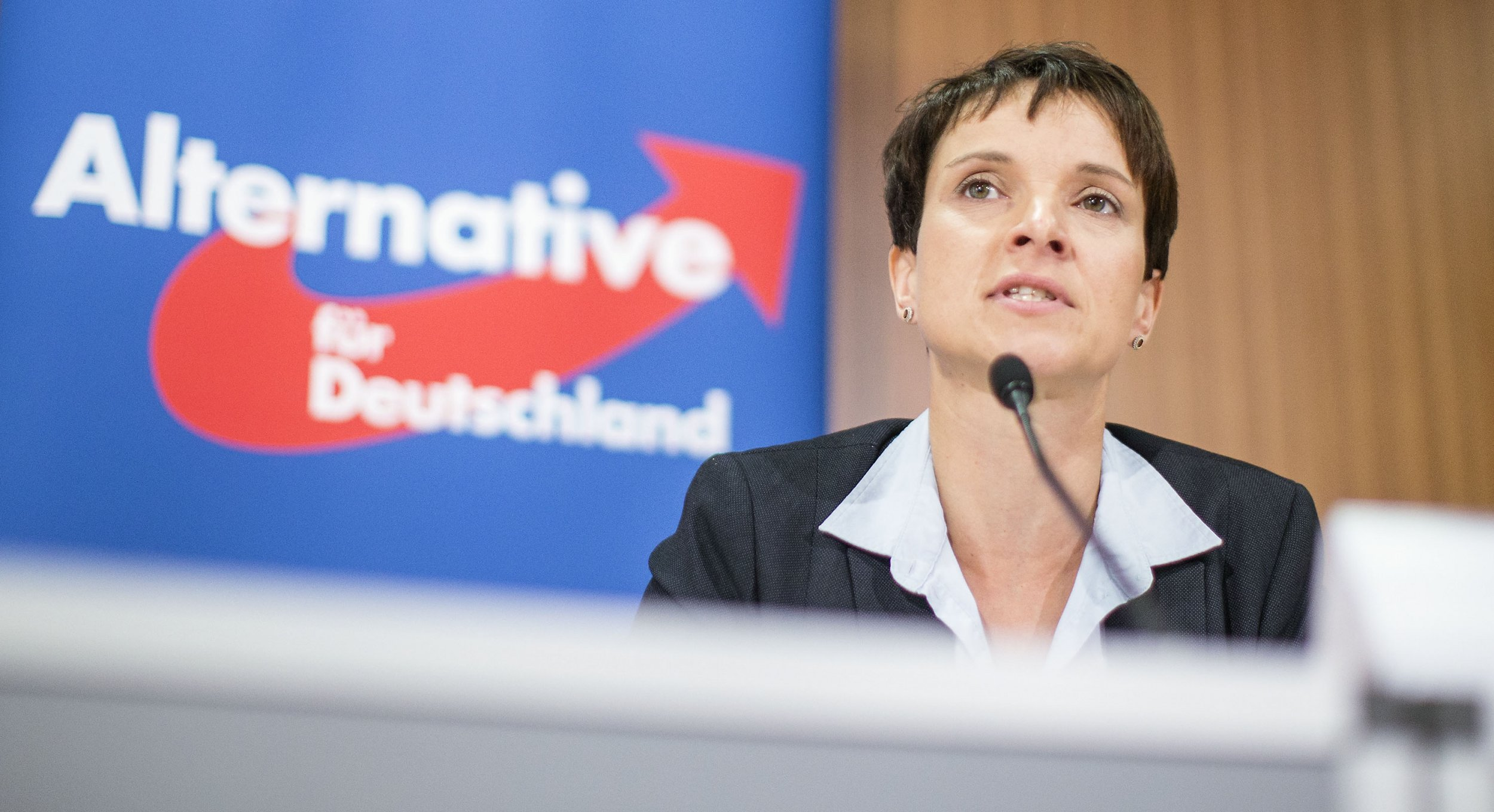 Frauke Petry leader of Alternative for Germany (AfD).