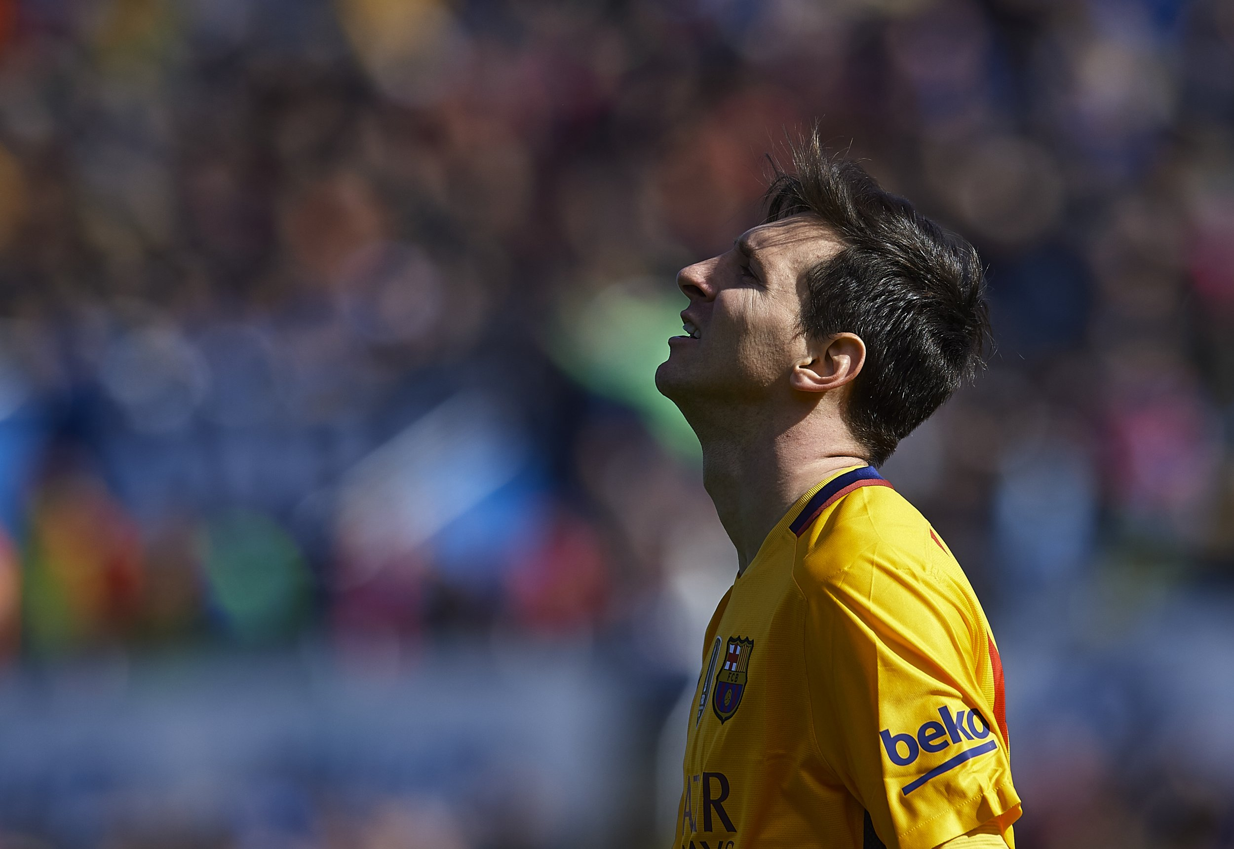 Lionel Messi will miss Barcelona training with kidney stones.