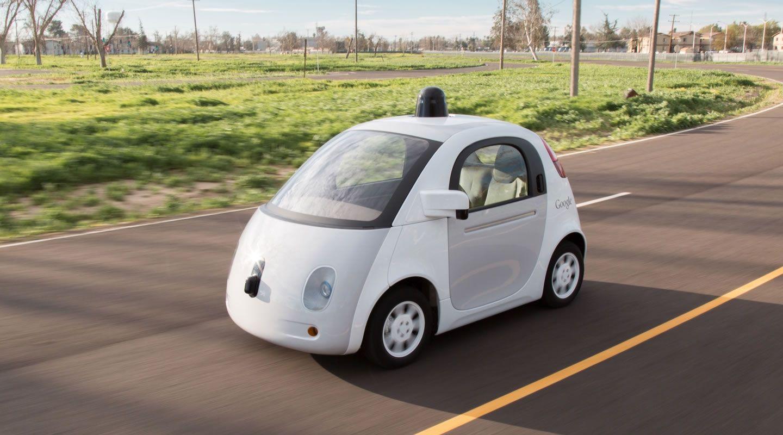 google self-driving car wireless charging