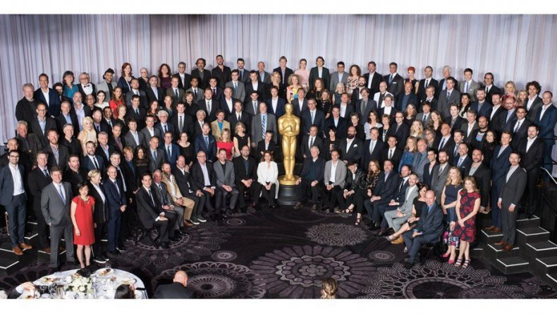 Oscars Group Photo