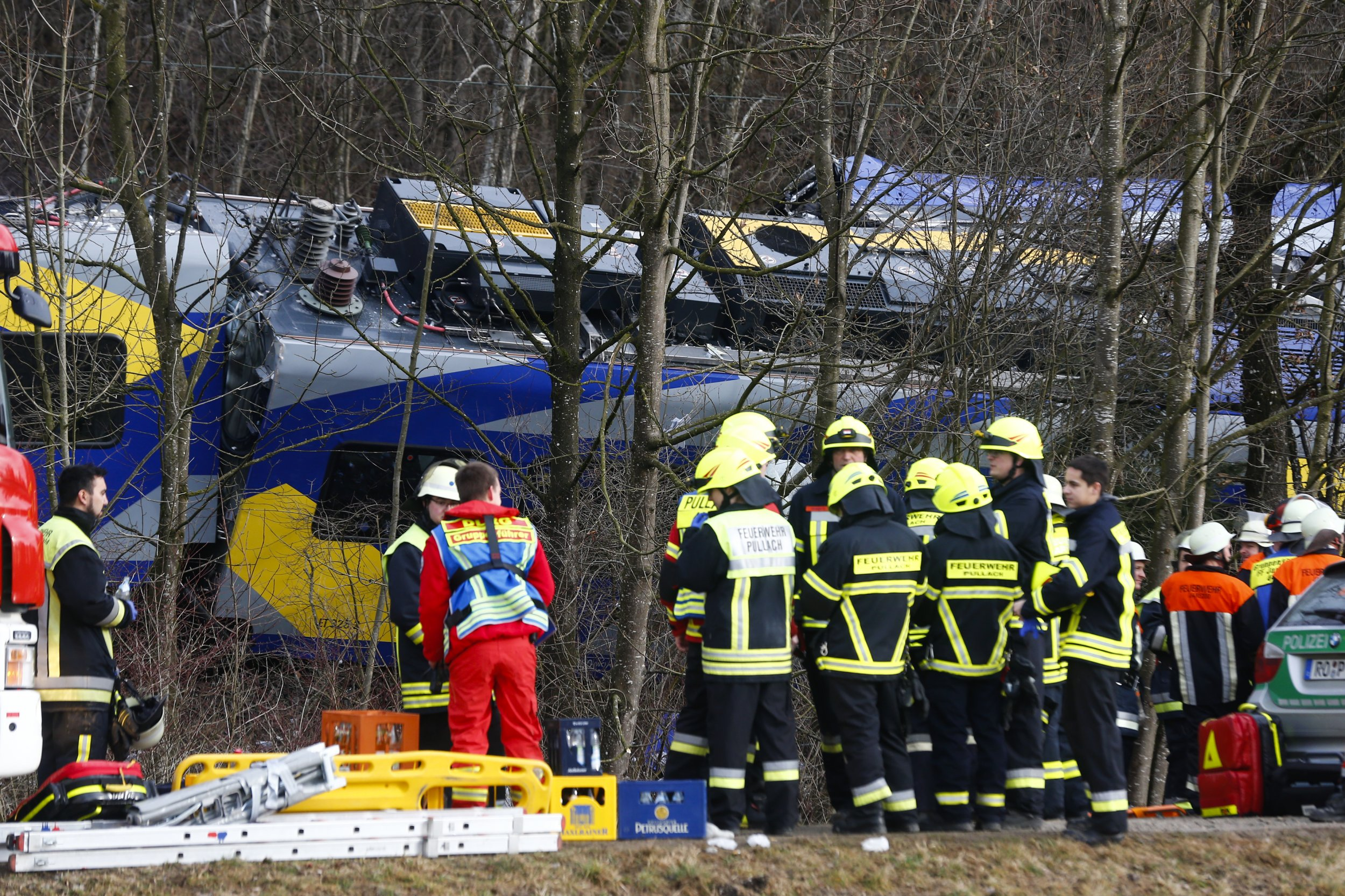 German train crash in Bad Aibling.