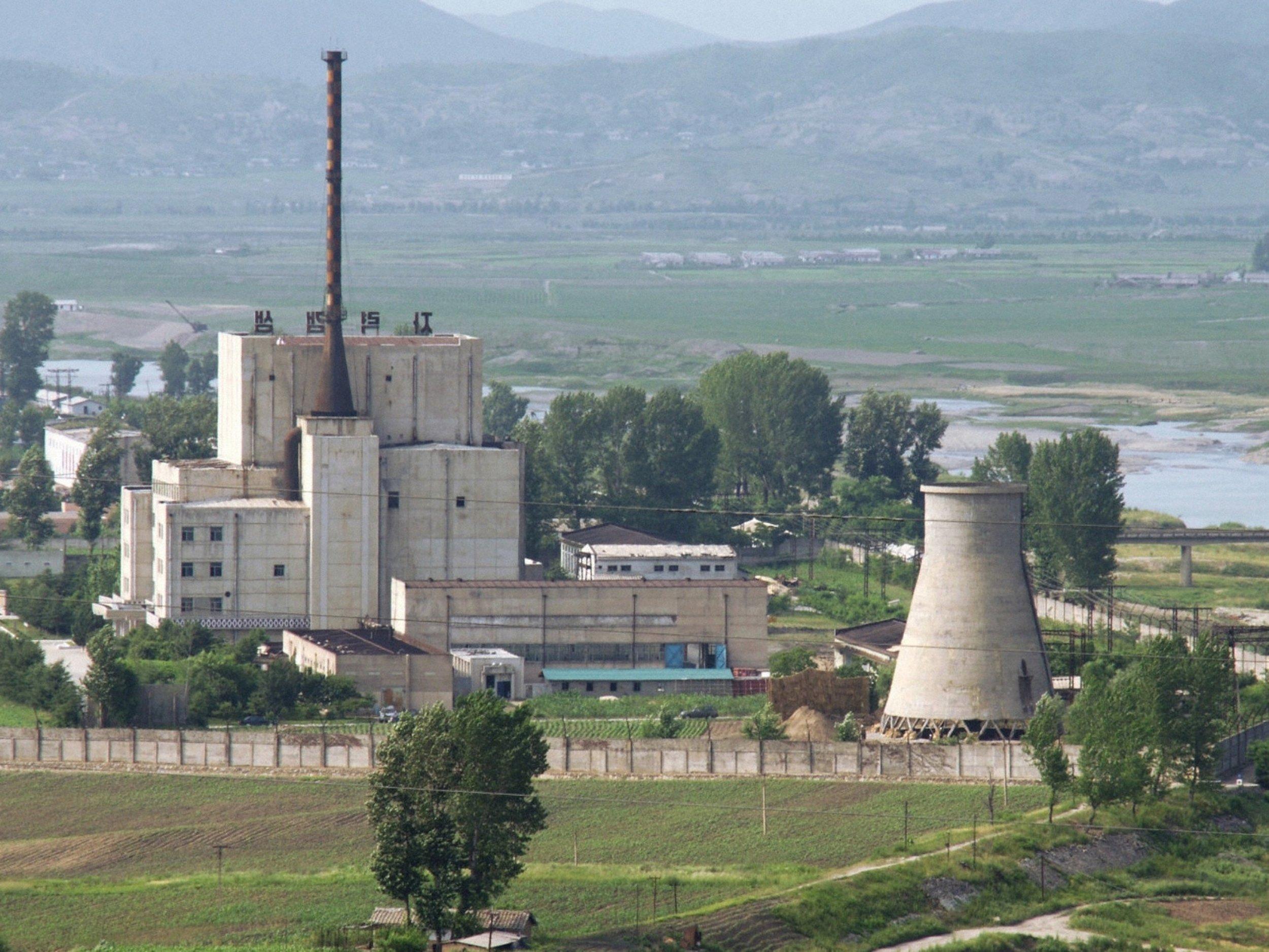 Yongbyon North Korea Reactor
