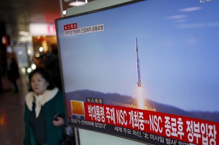 North Korea's satellite
