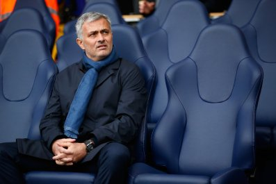 Jose Mourinho was sacked by Chelsea in December.