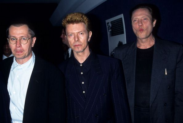Gary Oldman with Bowie