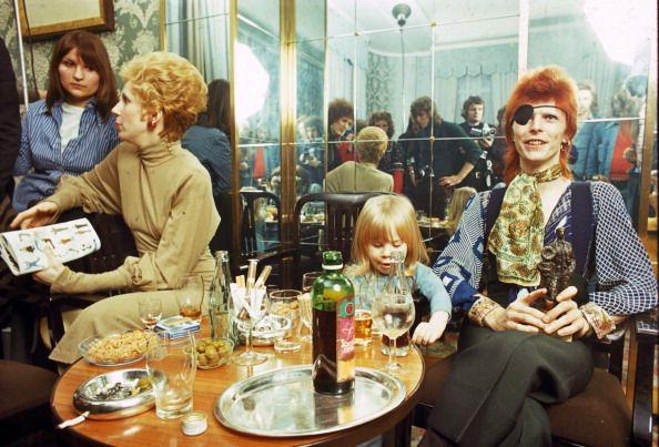 David Bowie with Duncan Jones