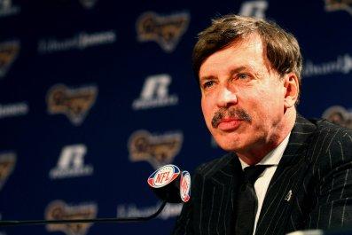 Stan Kroenke owns Arsenal and the St Louis, now LA, Rams.