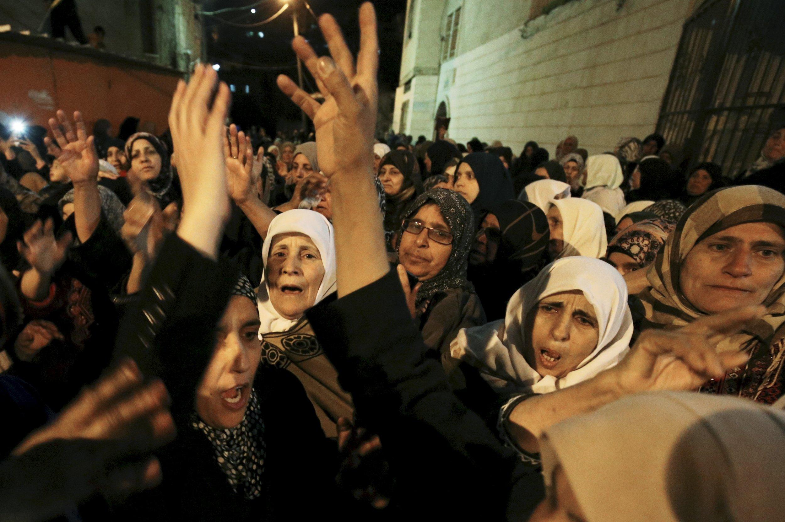 West Bank Israel Jerusalem Conflict Stabbing IDF
