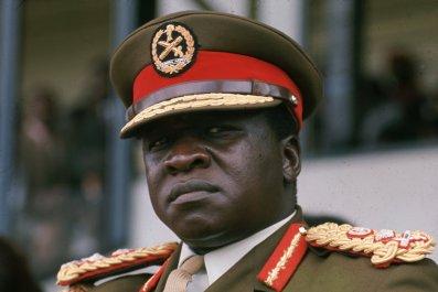 Idi Amin of Uganda.