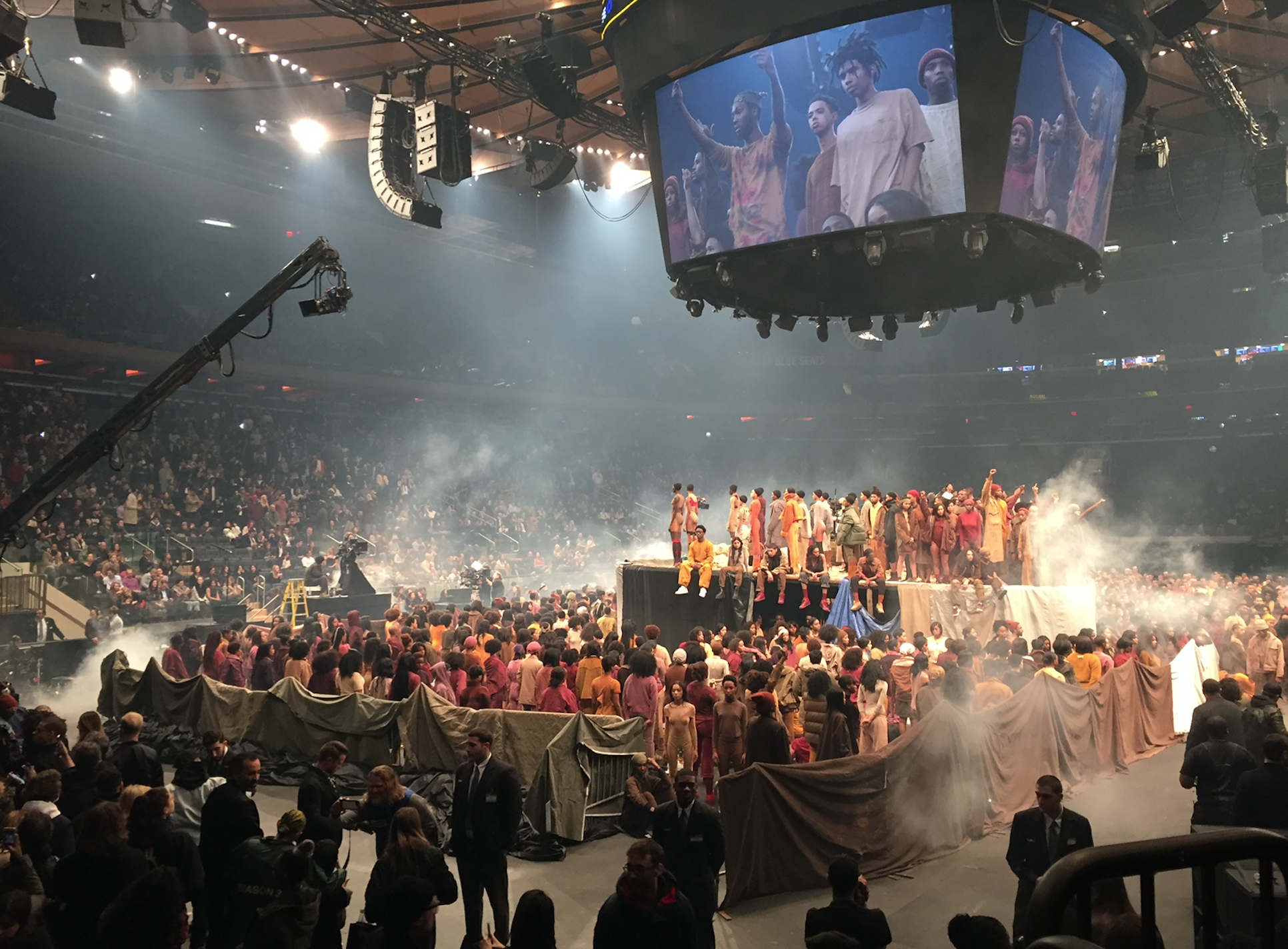 31ea18d7d75 Witnessing the Bizarre Spectacle of Kanye West s Yeezy Season 3 ...