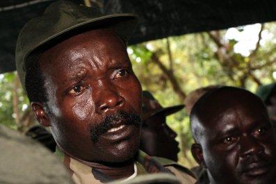 LRA leader Joseph Kony.
