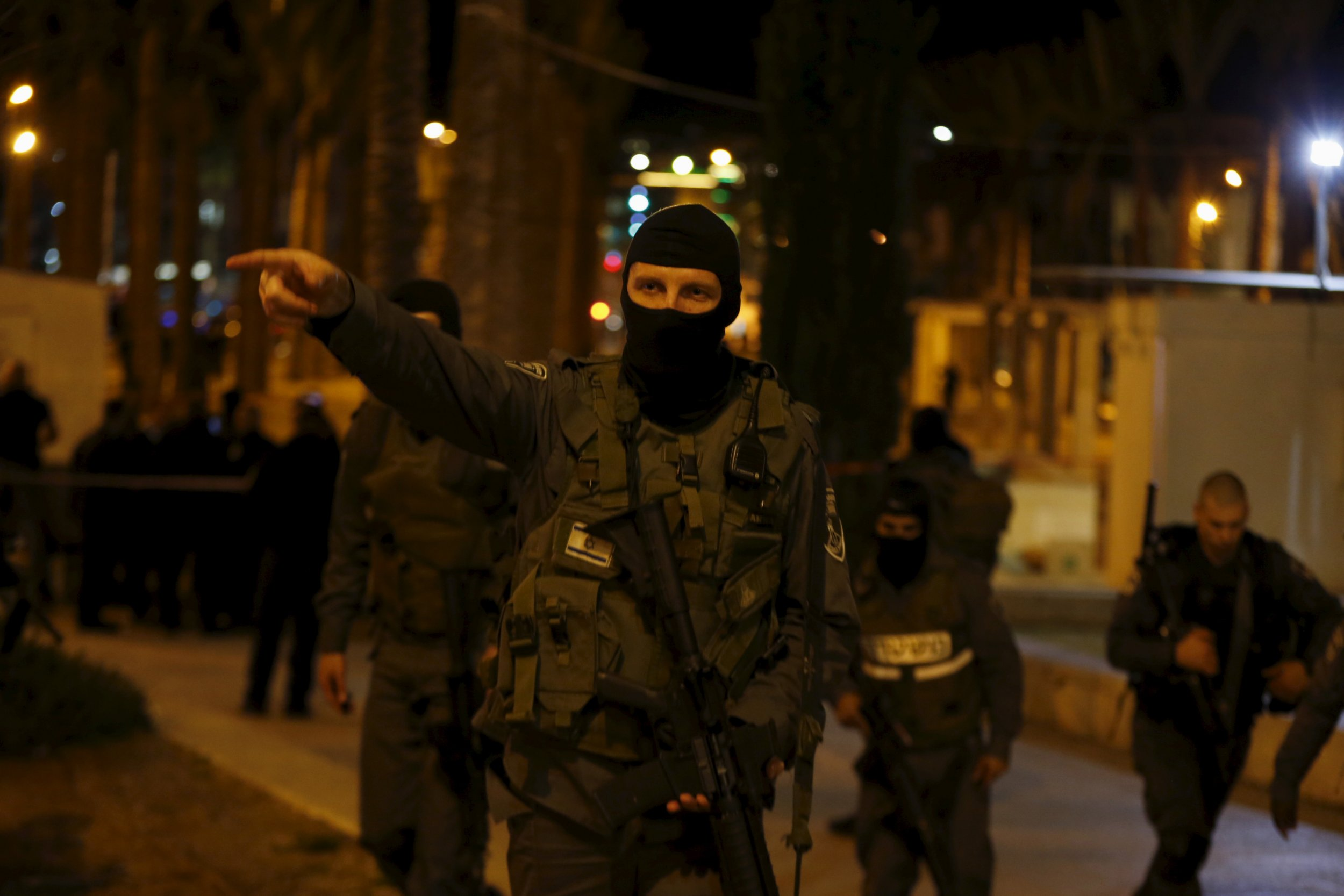 Israel Palestinians Jerusalem West Bank