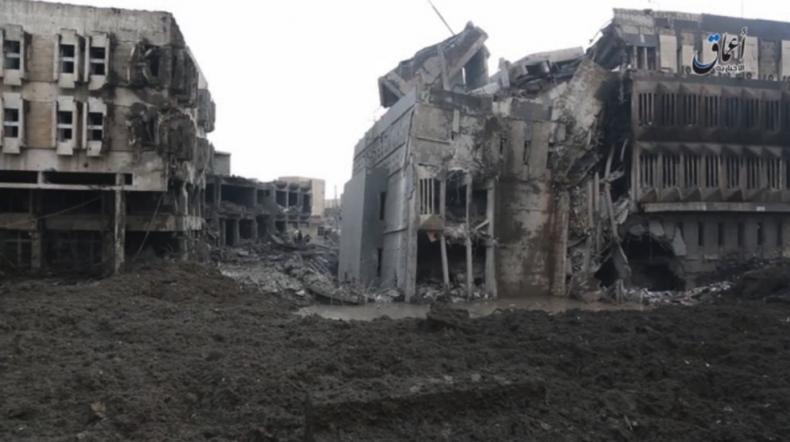 ISIS Coalition Iraq Mosul Banks