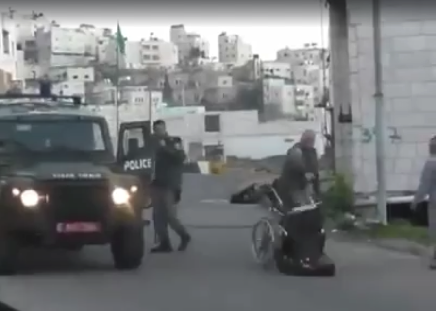 Israel Palestinian Hebron West Bank Stabbing Wheelchair