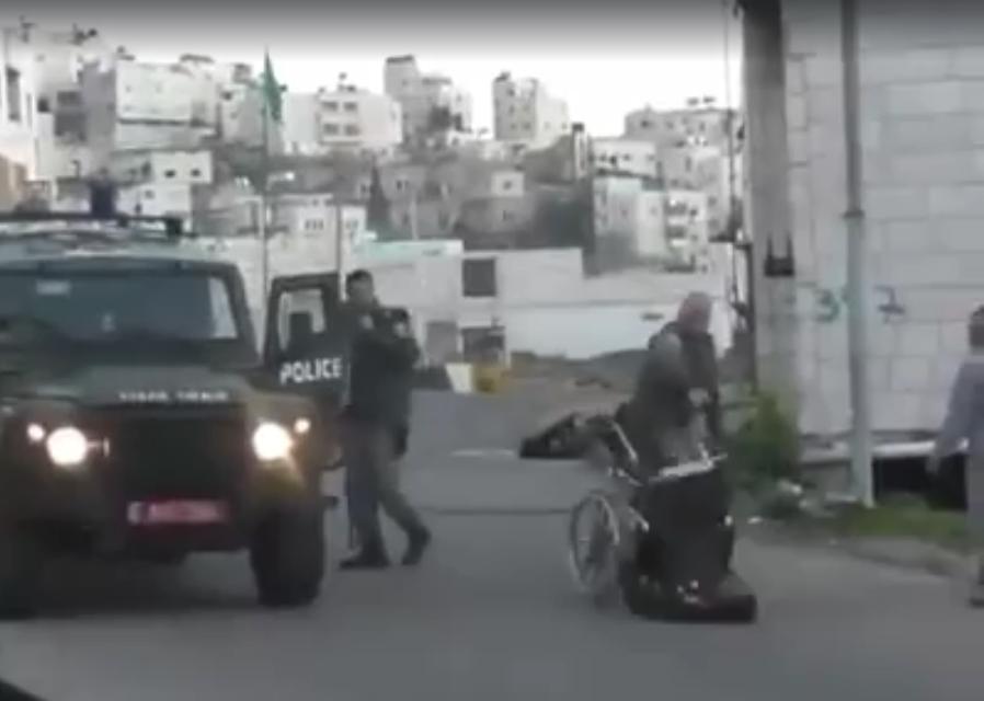 Israel Palestinian Hebron West Bank Stabbing Wheelchair