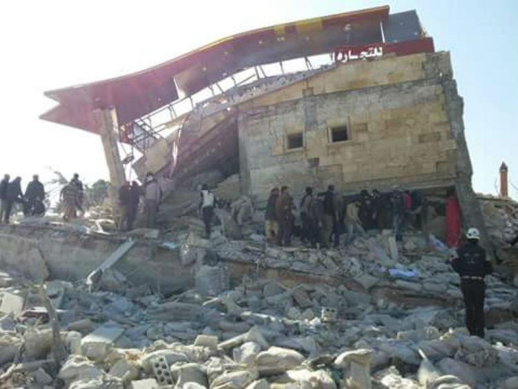 Syria Air Strike MSF Idlib