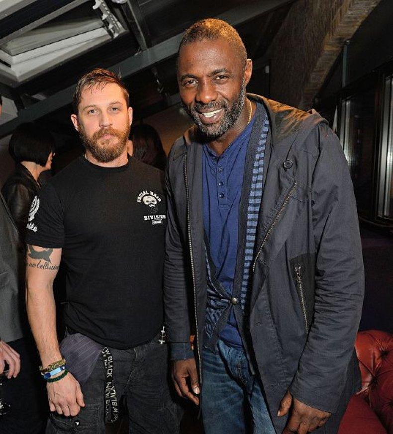 Idris Elba and Tom Hardy
