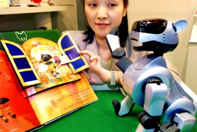 robots read books to learn ethics.