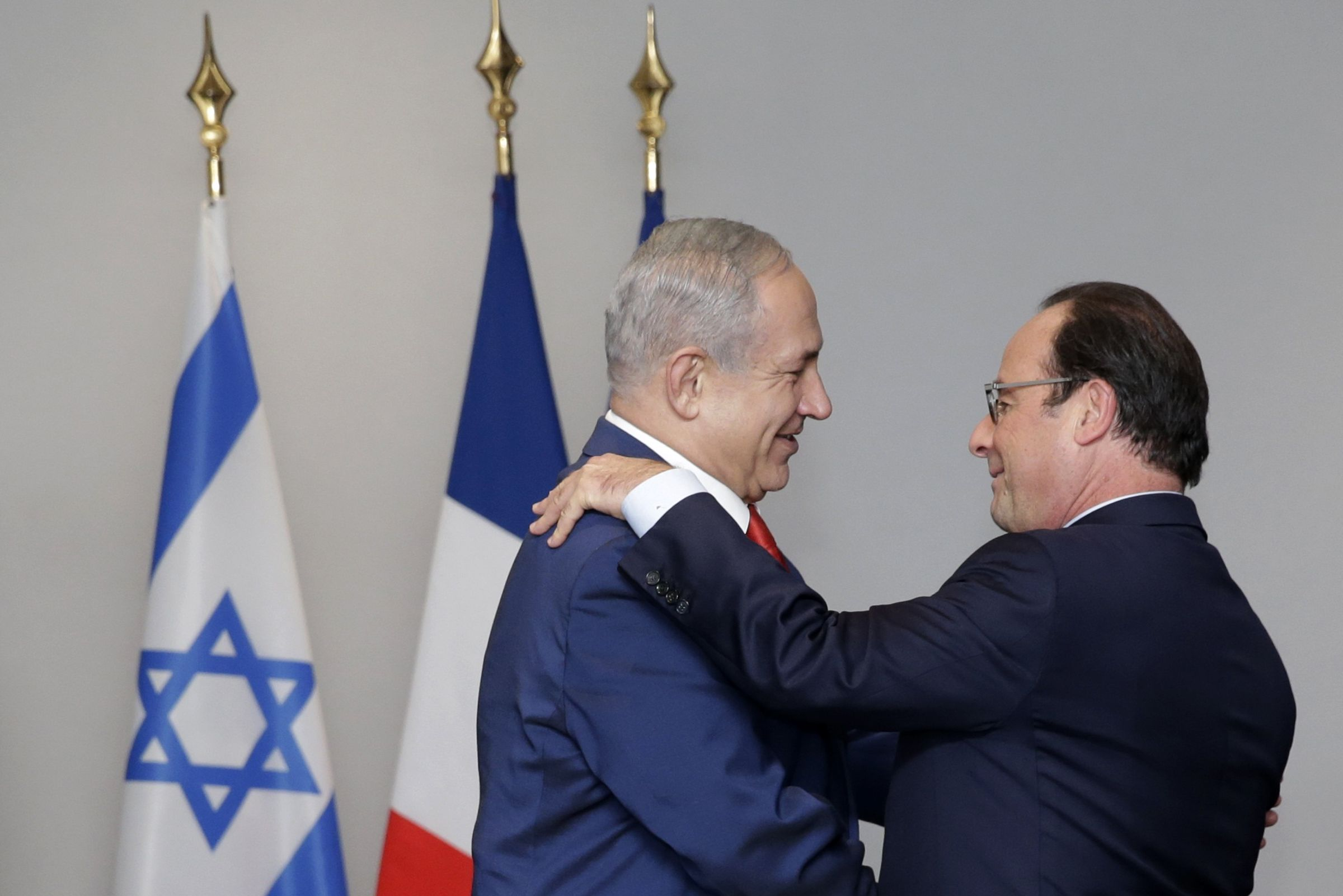 Israel France Peace Palestinians Middle East