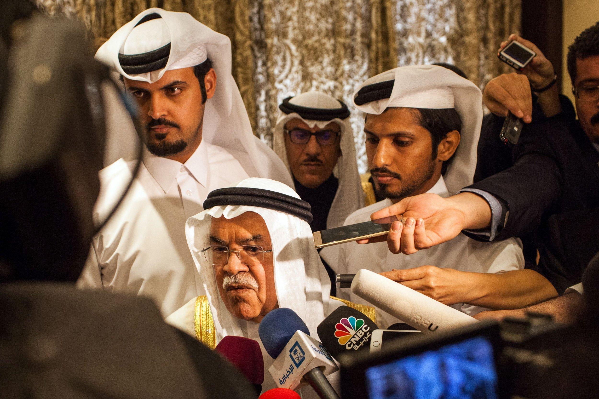 Russia Saudi Arabia Oil Freeze