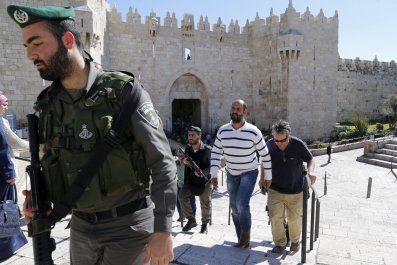 Israel Washington Post Bureau Chief William Booth Detained