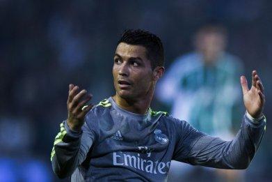 Cristiano Ronaldo in Seville, January 24, 2016.