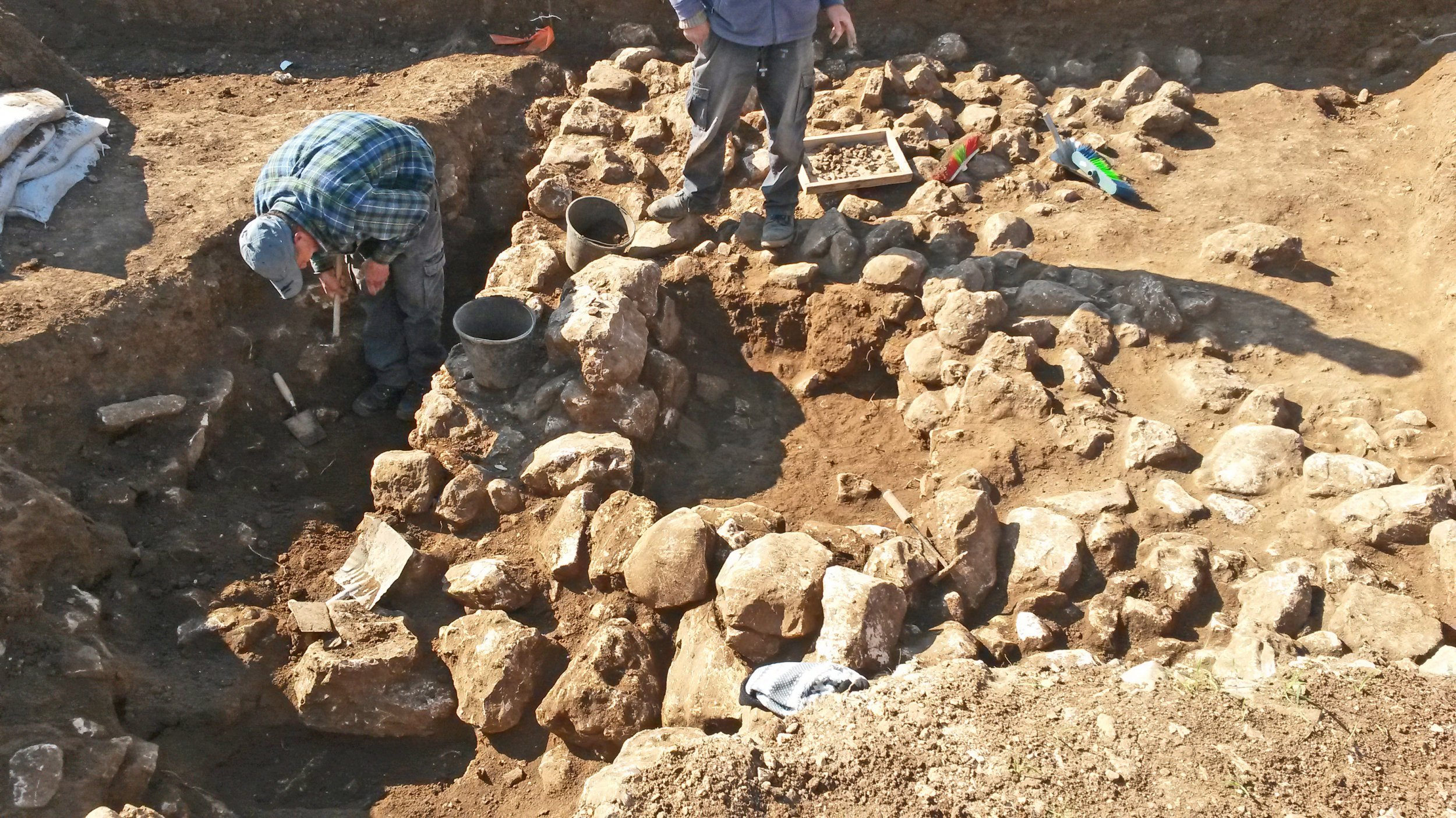 Jerusalem Town Archaeology Artefacts Israel Middle East