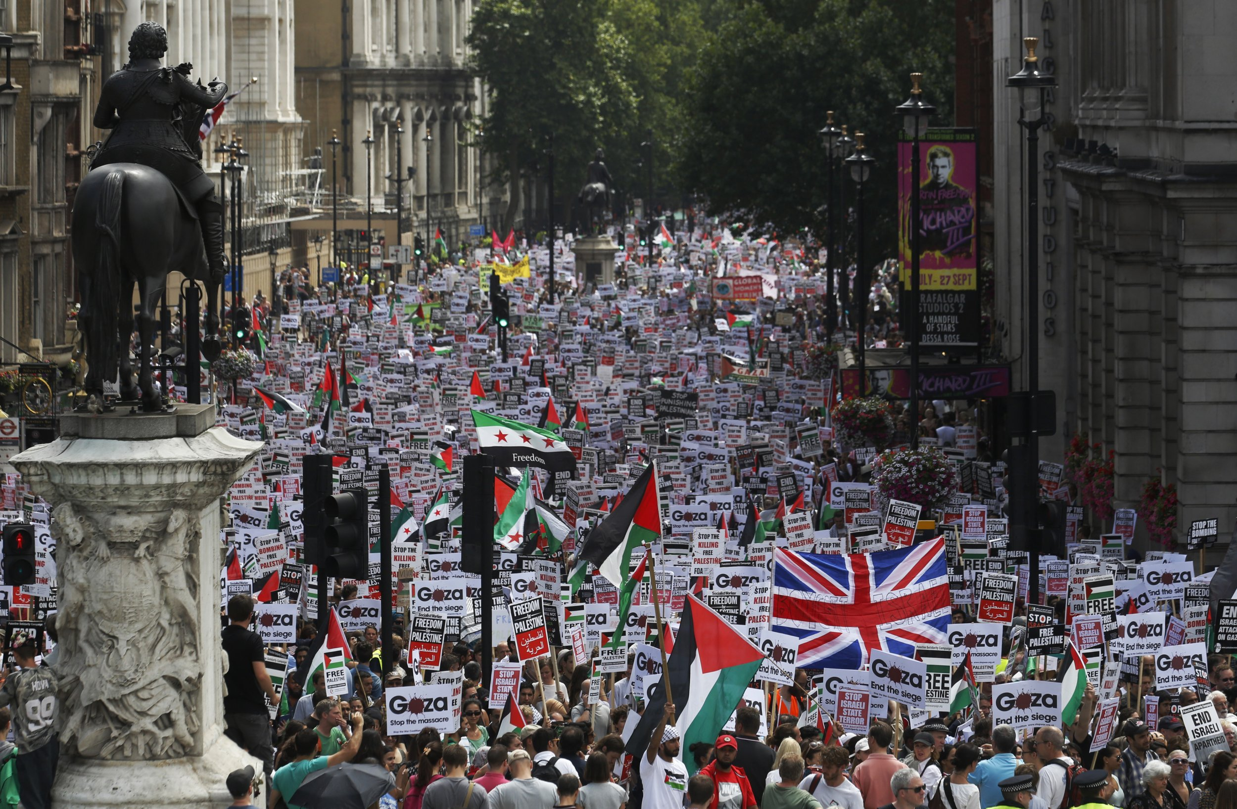 Israel UK Boycott Law Palestinians