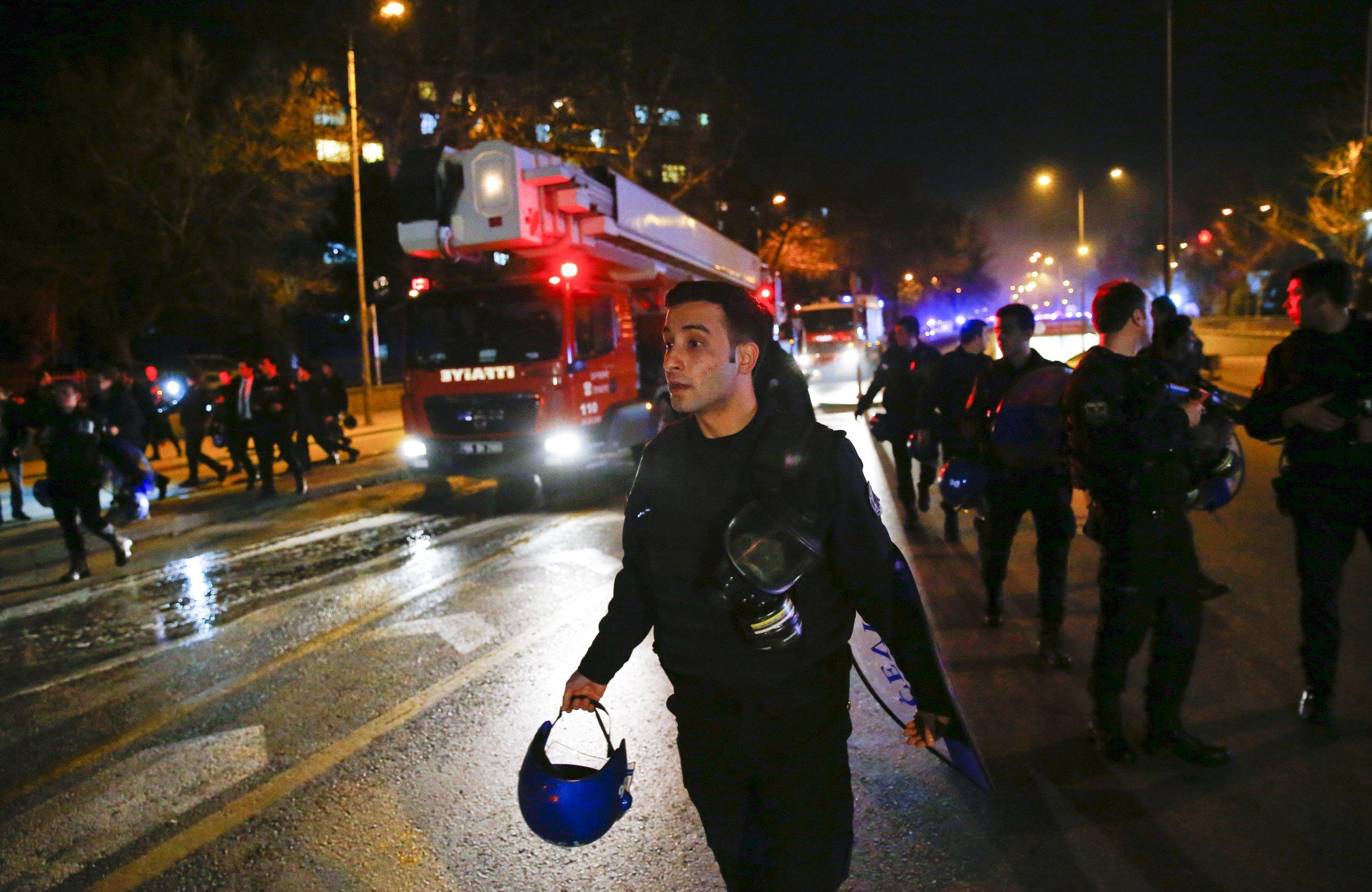 Turkey Ankara Bomb Blast Kills Five