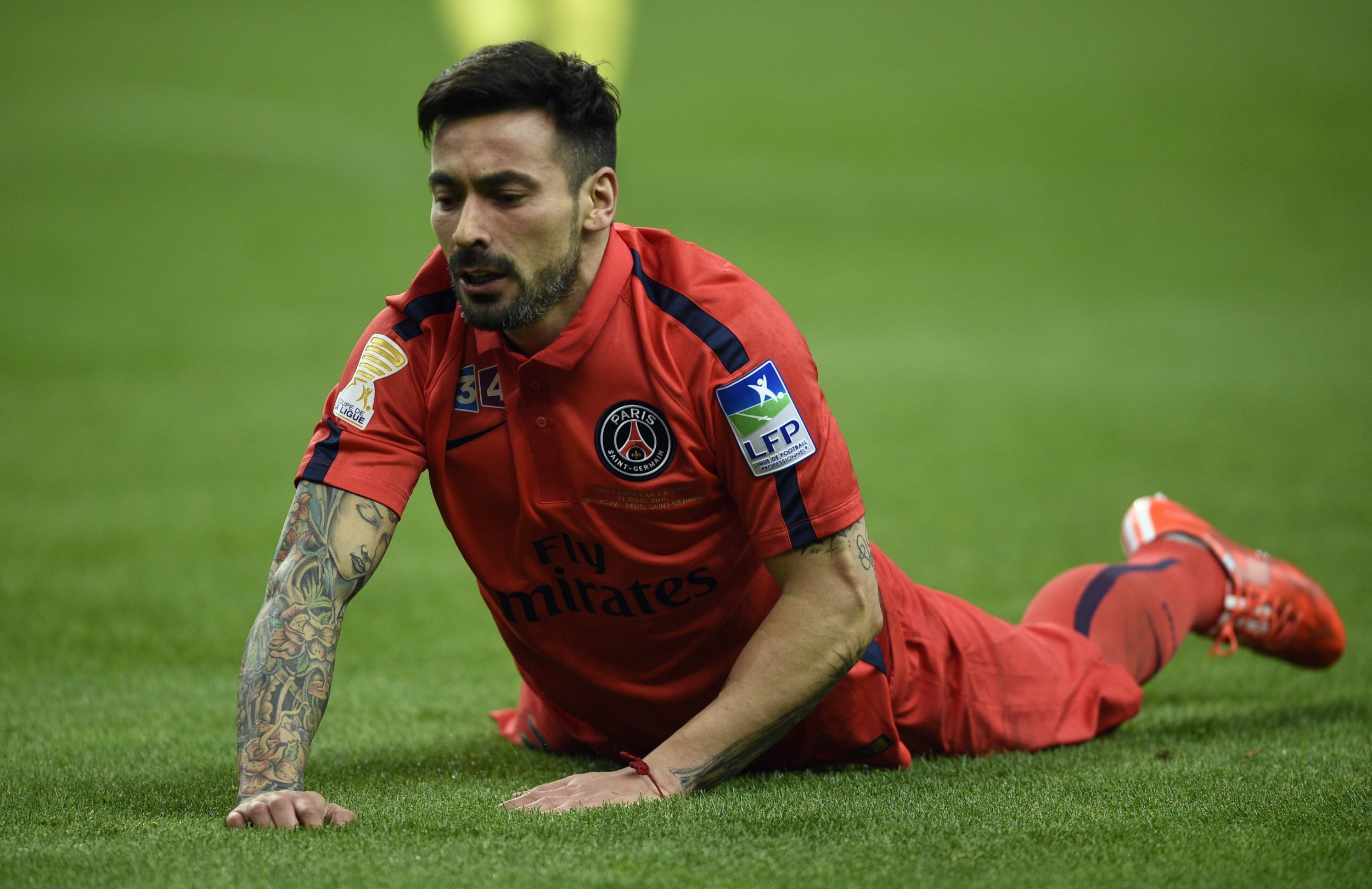Ezequiel Lavezzi has moved to Hebei Fortune in China.