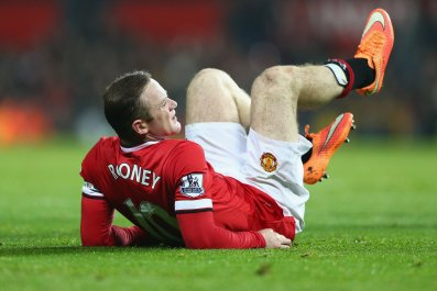 Manchester United captain Wayne Rooney may be out for two months with injury.