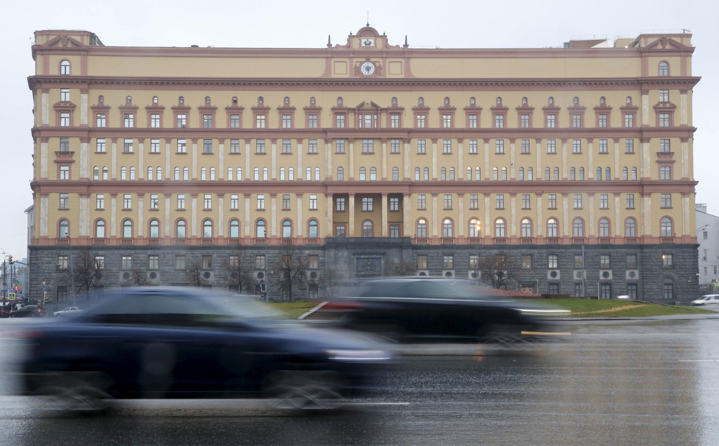 FSB headquarters in the Lubyanka, Moscow